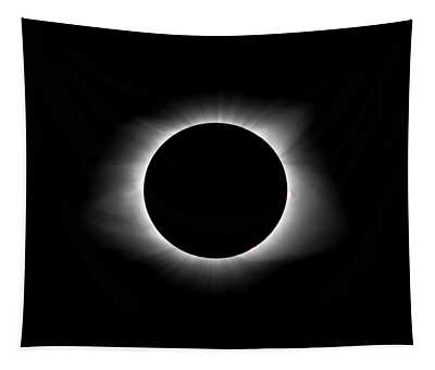 Solar Eclipse Ring Of Fire Tapestry