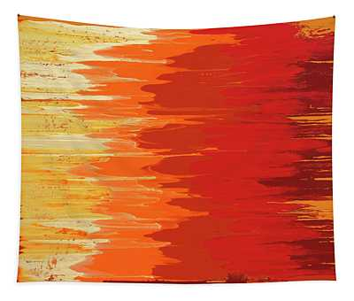 Solar Flame Tapestry