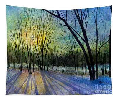 Solstice Shadows Tapestry