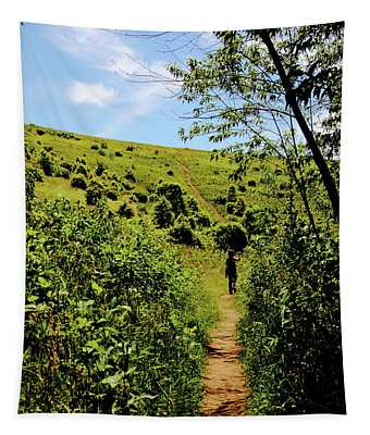 Sometimes We Walk Alone Tapestry