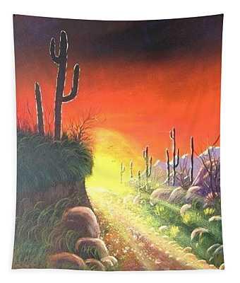 Sonora Sunrise Tapestry