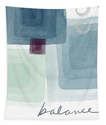 Soothing Balance- Art By Linda Woods Tapestry