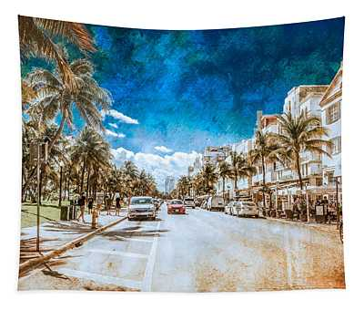 South Beach Road Tapestry