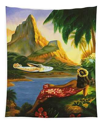 South Sea Isles Tapestry
