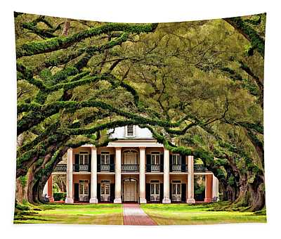 Southern Class Painted Tapestry