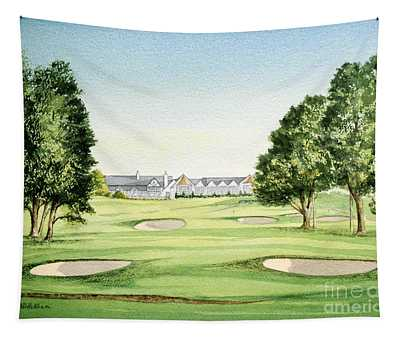 Southern Hills Golf Course 18th Hole Tapestry