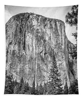 Southwest Face Of El Capitan From Yosemite Valley Tapestry