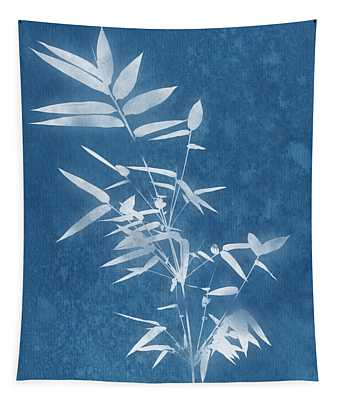 Spa Bamboo 3- Art By Linda Woods Tapestry