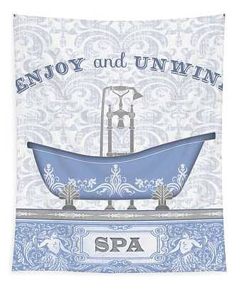 Spa Time-blue-jp3846 Tapestry