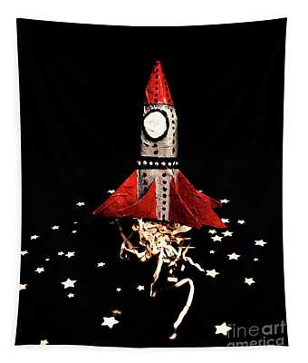 Space Craft Tapestry