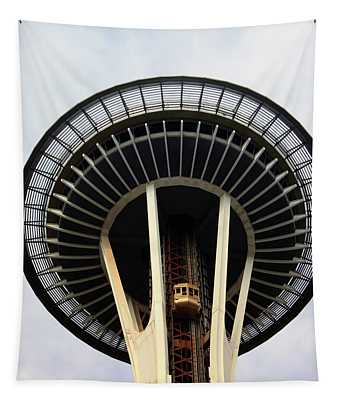 Space Needle- By Linda Woods Tapestry