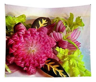 Spanish Flowers Tapestry