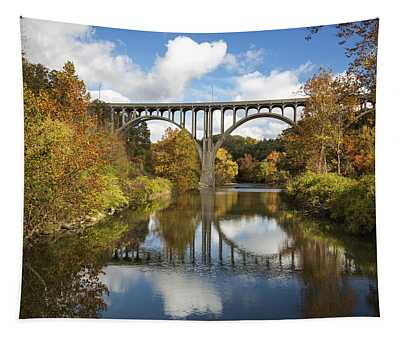 Spanning The Cuyahoga River Tapestry