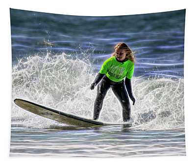 Sparkle Surf Tapestry