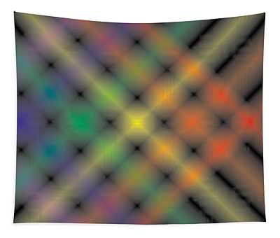 Spectral Shimmer Weave Tapestry