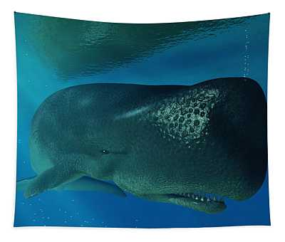 Sperm Whale Tapestry