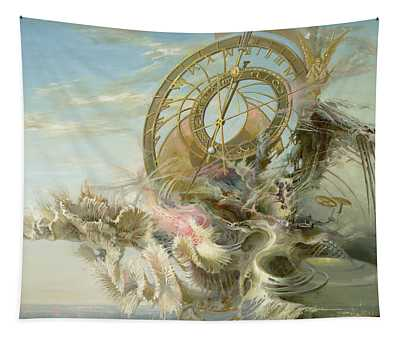 Spiral Of Time Tapestry