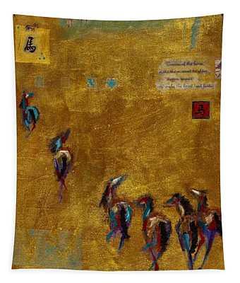 Spirit Horses Tapestry