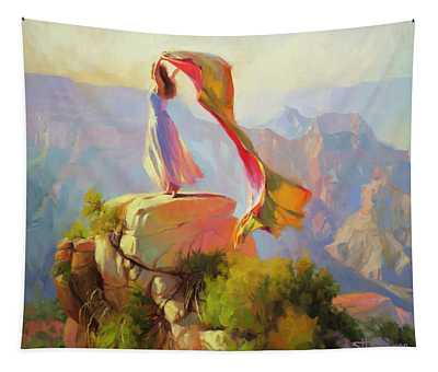 Spirit Of The Canyon Tapestry