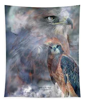 Spirit Of The Hawk Tapestry