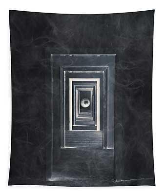 Spooky Doorways Tapestry