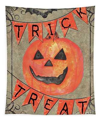 Spooky Pumpkin 1 Tapestry