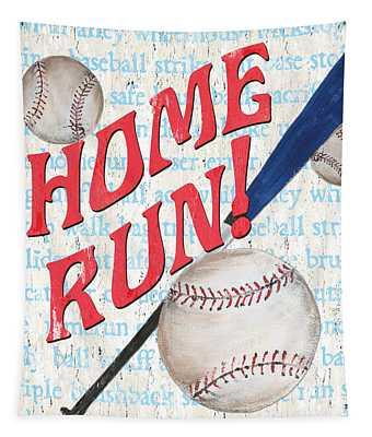 Sports Fan Baseball Tapestry