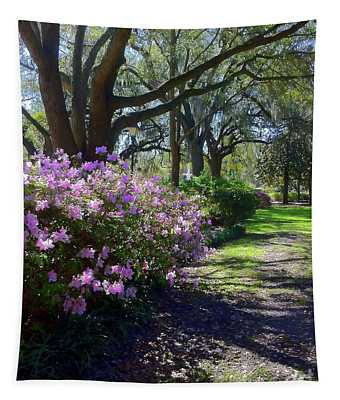 Spring Day In Savannah Tapestry