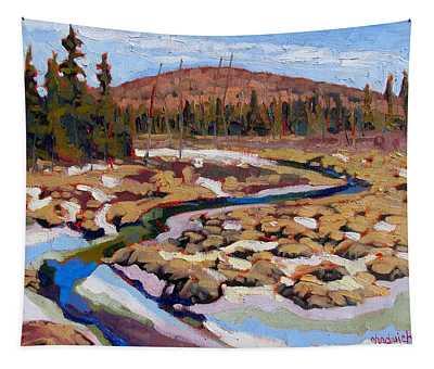 Spring Marsh Algonquin Tapestry