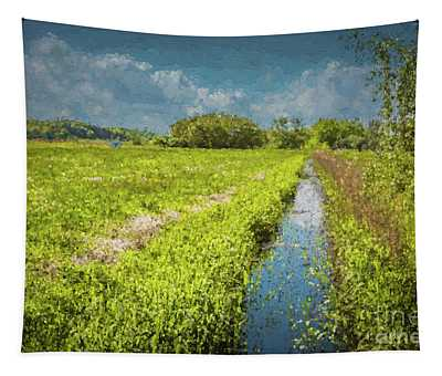 Spring Meadows Tapestry