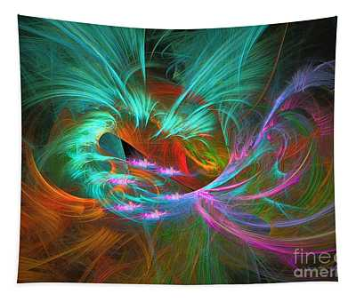 Spring Riot - Abstract Art Tapestry