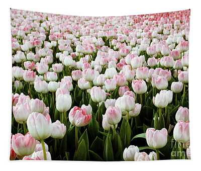 Spring Tulips Tapestry