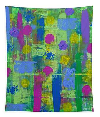 Springtime Abstract Tapestry