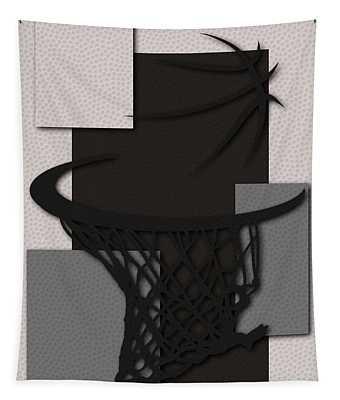 Spurs Hoop Tapestry