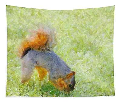 Squirrelly Tapestry