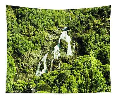 St Columba Falls Tasmania Tapestry