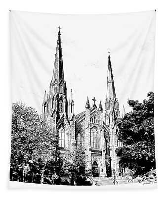 St Dunstans Basilica Tapestry