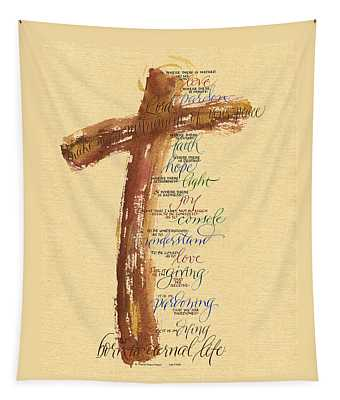 St Francis Peace Prayer  Tapestry