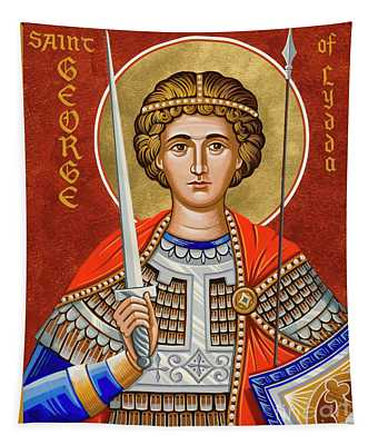 St. George Of Lydda - Jcgly Tapestry