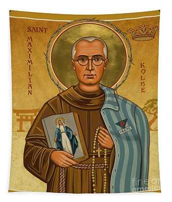 St. Maximilian Kolbe - Jckol Tapestry