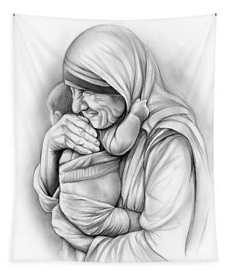 St Mother Teresa Tapestry