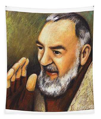 St. Padre Pio Of Pietrelcina - Jlpio Tapestry