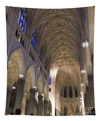 St. Patricks Cathedral Main Interior Tapestry