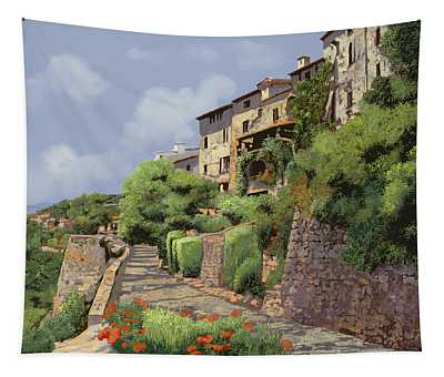 St Paul De Vence Tapestry