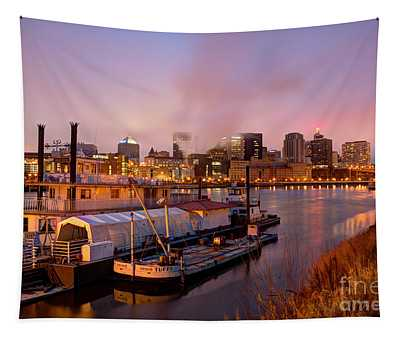 St Paul Minnesota Its A River Town Tapestry