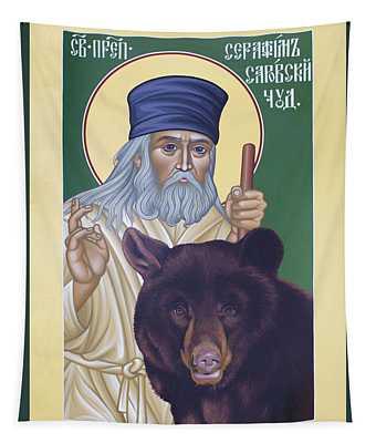 St. Seraphim Of Sarov - Rlses Tapestry