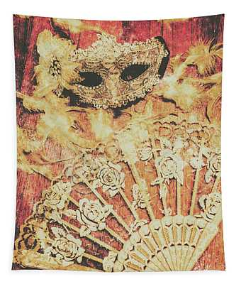 Stage Of Venice Tapestry