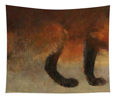 Stalking Fox Tapestry