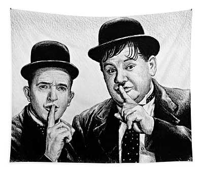 Stan And Ollie Tapestry