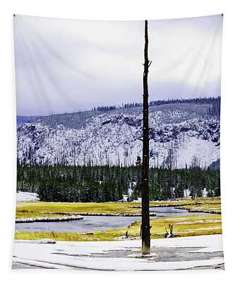 Standing Alone Tapestry